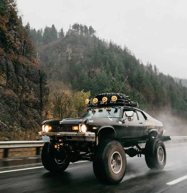 Lifted Zombie Chevy Nova 4x4 - Image Jenny Linquist