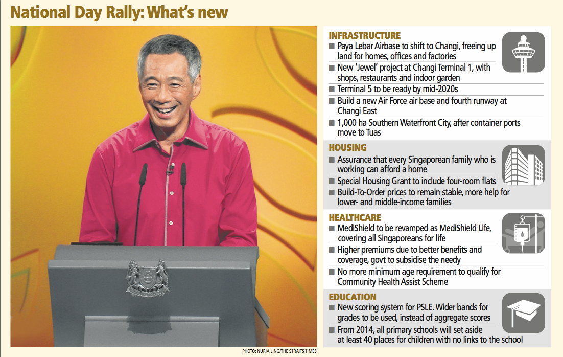 If Only Singaporeans Stopped to Think: National Day Rally 2013