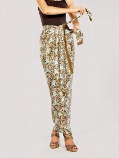 rok batik panjang model baru