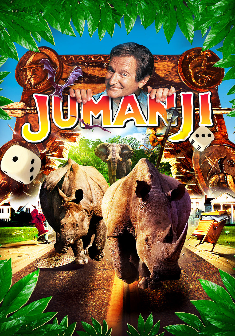 Download Jumanji (1995) Full Movie In Hindi-English (Dual Audio) 480p [330MB] | 720p [1.4GB]