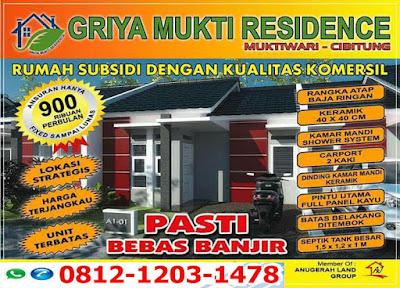 Rumah Subsidi Griya Mukti Cibitung Daftar Harga Terbaru 2019-2020