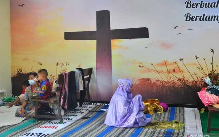 Mantap! Gereja dan Kelenteng Jadi Tempat Pengungsian Korban Banjir di Jateng