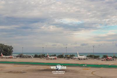 Phuket Airport, Thailand. www.WELTREISE.tv