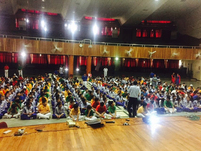 "Seminar on ""Shaping Destiny"" at St. Theresa Convent Senior Secondary School, Karnal, Haryana by FIITJEE Punjabi Bagh Centre"