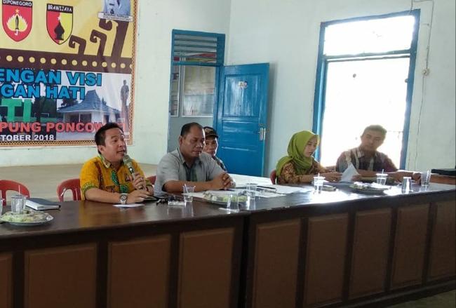 70 % Dana Desa Kampung Poncowati Digunakan Untuk Infrastruktur