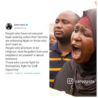 Aisha Yesufu Backfires Families And People Who Practice Hypocrisy