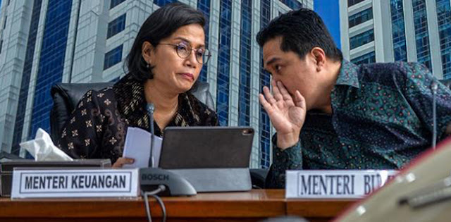 Relawan Jokowi Laporkan Erick Thohir Dan Sri Mulyani, Sinyal Kapal Mau Tenggelam?