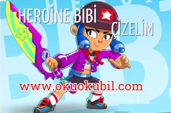Heroine Bibi, Kahraman Bibi Boyama Sayfası İle Çizim Öğren