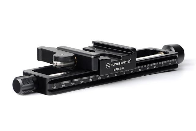 Sunwayfoto MFR-150 Macro Focusing Rail sideview
