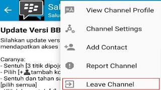 Tips Agar Tidak Bergabung Pada Channel Mencurigakan Di BBM
