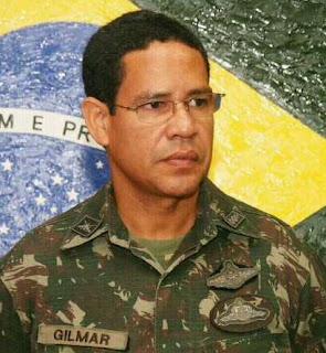 Nota de pesar pelo falecimento do coronel Gilmar Antônio de Lima Ribeiro