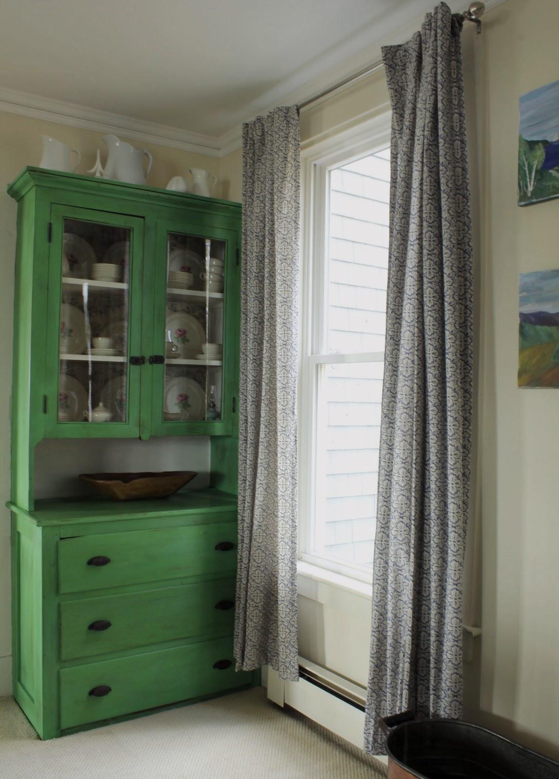 Ascp Antibes Green Cupboard