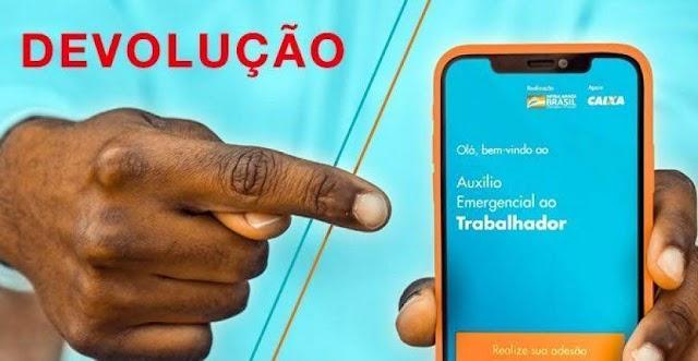 Devolução do auxílio emergencial vai atingir 2,1 milhões de brasileiros; veja quem será atingido