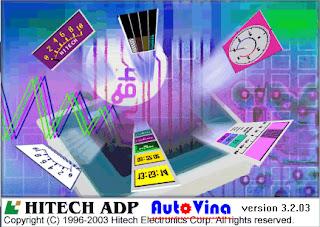 Phần mềm HMI Hitech ADP v3.2.03