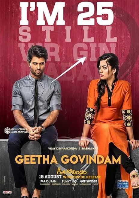 Geetha govindham 2018 Telugu Tamil Malayalam Kannada movie