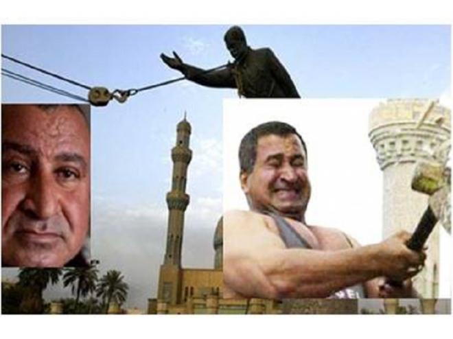 لن تصدق ما الذي قاله الشخص الذي حطم  تمثال صدام حسين بعد مرور كل هذه السنوات على إعدام صدام حسين