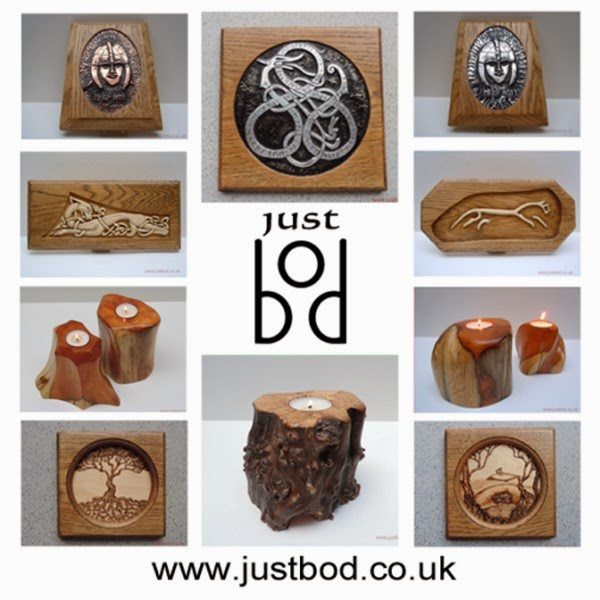 Justbod Celtic Viking and Mythical sculptures and carvings