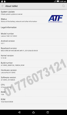 MT6582__Lenovo__Lenovo_TAB_2_A7-30HC__A7-30HC__5.0.1__A7-30HC_USR_S000126_1508241030_MP2V1_ROW