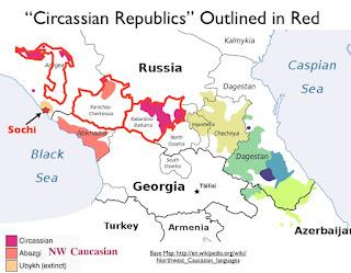 Wilayah Etnis Circassia