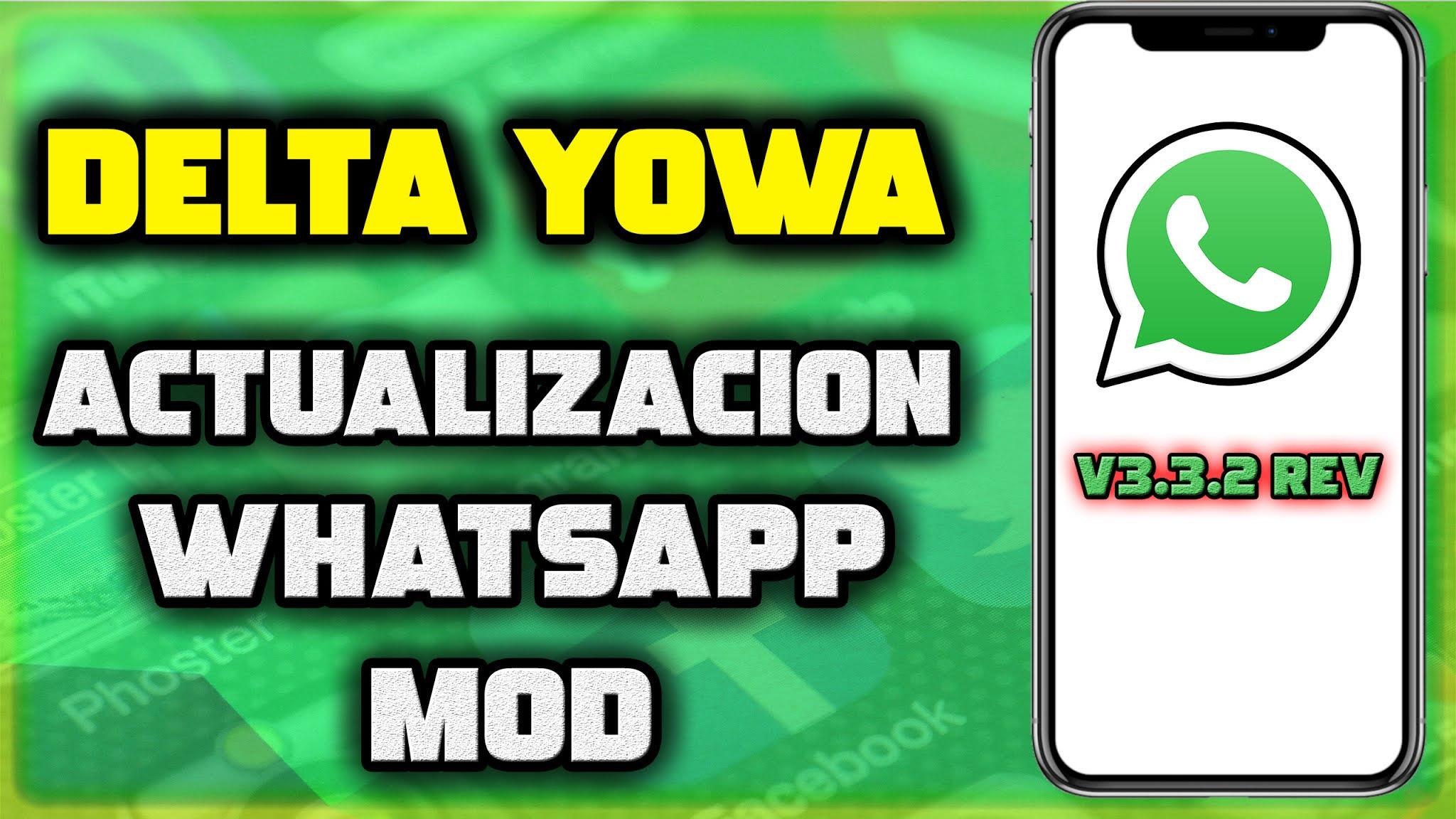 Actualización Delta Yowa v3.3.2 Rev