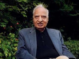 नहीं रहे भारतीय मूल के अमेरिकी लेखक और उपन्यासकार वेद मेहता