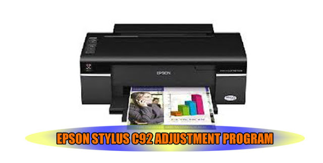Epson Stylus C92 Printer Adjustment Program