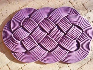 1581 alfombras de trapilho y cuerdas labores en red for Alfombras hechas con lana