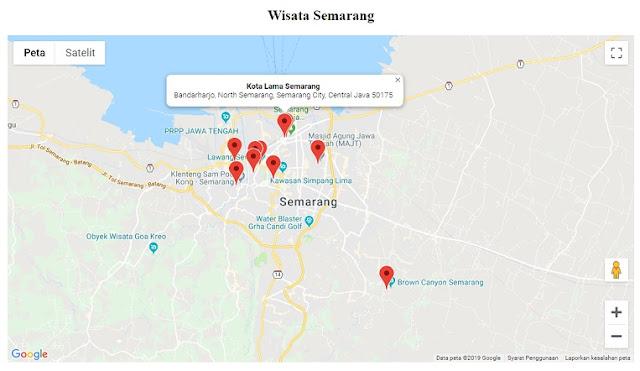 Menampilkan Peta Google Maps Api Menggunakan PHP dan Database Mysql