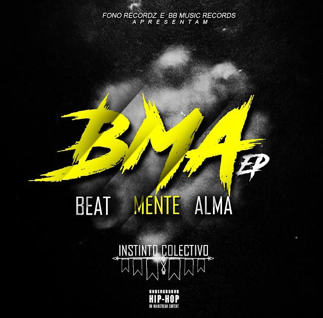 "Instinto Colectivo lança o EP ""Beat, Mente e Alma"""
