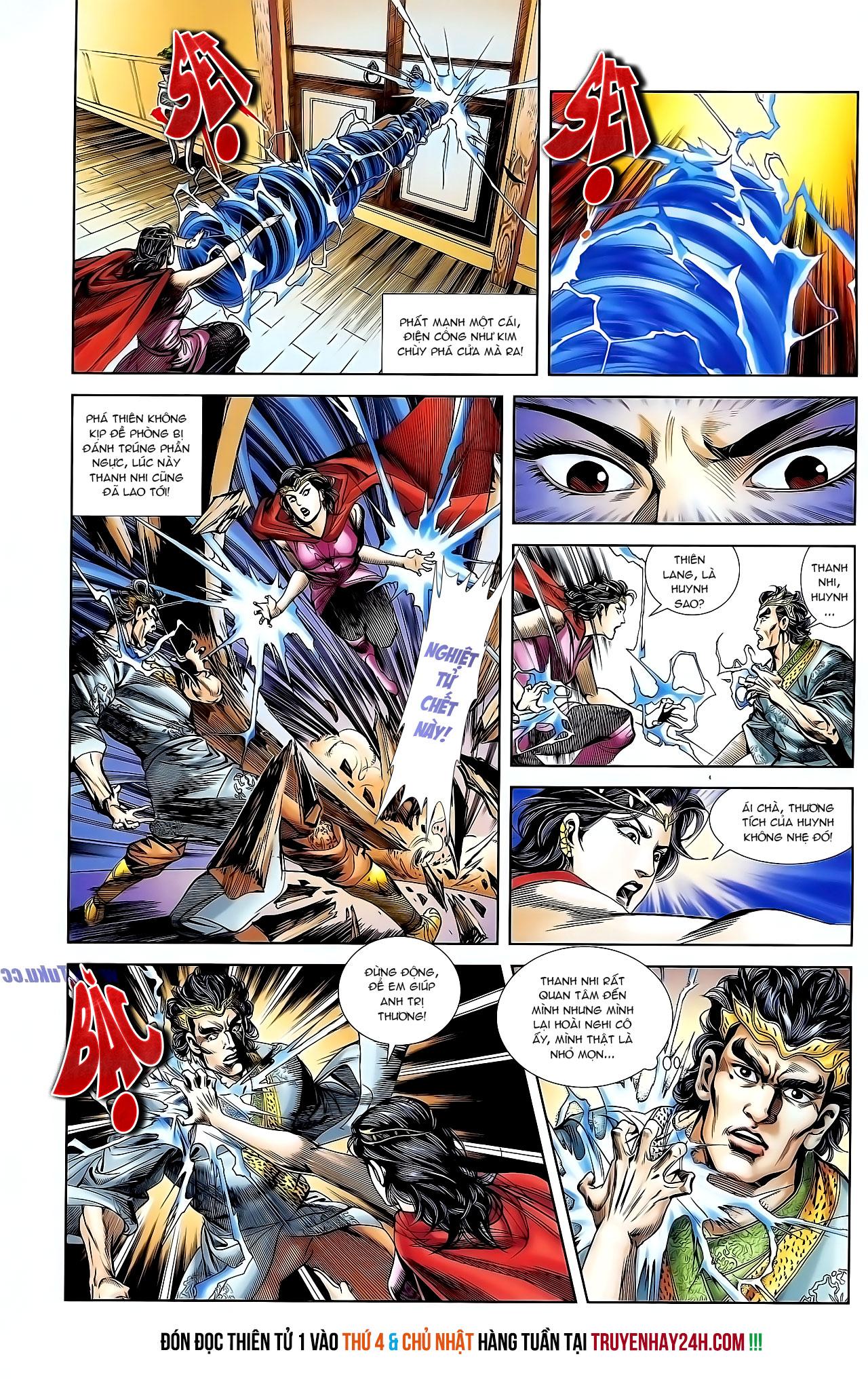 Cơ Phát Khai Chu Bản chapter 127 trang 28
