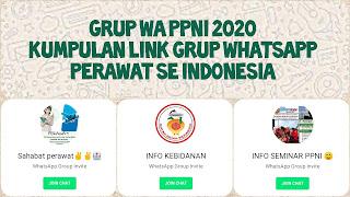 Link grup whatsapp perawat indonesia