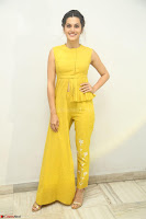 Taapsee Pannu looks mesmerizing in Yellow for her Telugu Movie Anando hma motion poster launch ~  Exclusive 119.JPG