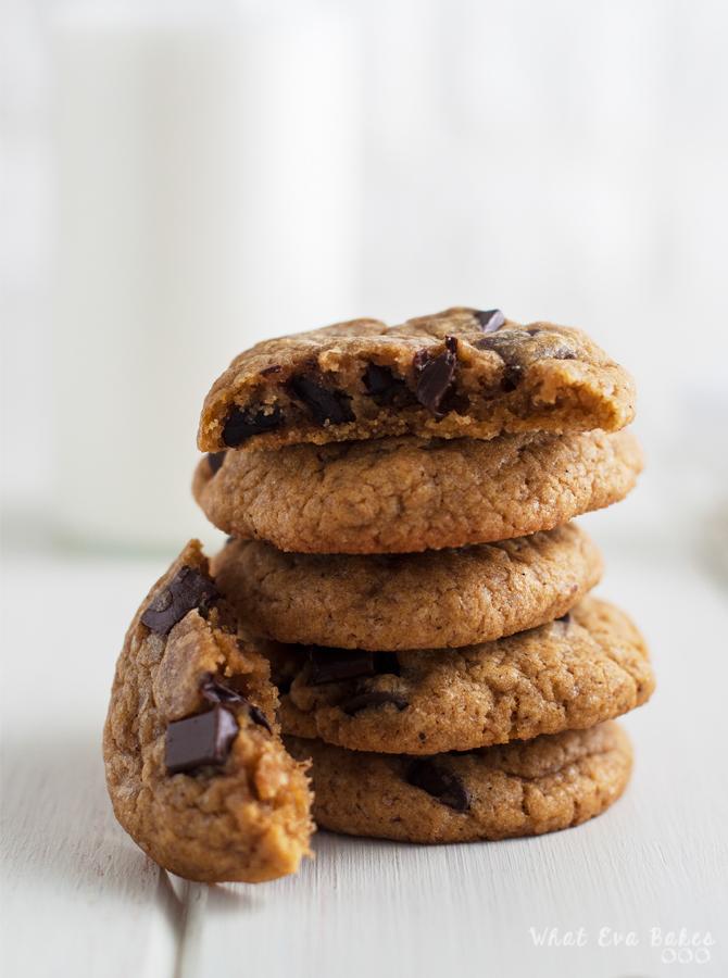 Cookies de chocolate y calabaza