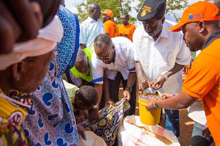 Mr. Odinga to spend a day tomorrow distributing food in Chakama and Areas in Ganze.