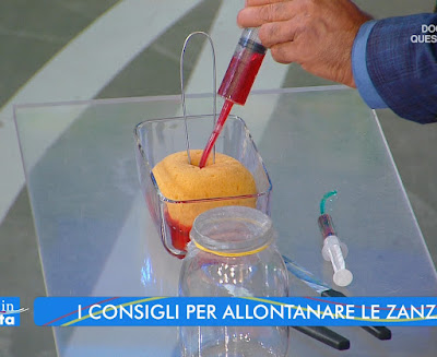 Valerio Rossi Albertini simulazione zanzara come succhia il sangue