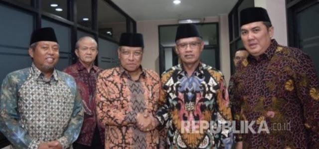 Makna di Balik Pertemuan NU dan Muhammadiyah