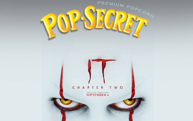 Pop Secret is celebrating the release of IT Chapter Two by giving away the winner's choice of a  trip to Prague, Rome or Venice for a spooky evening ghost walk!