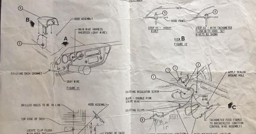 Pontiac Hood Tachometer Wiring Diagram