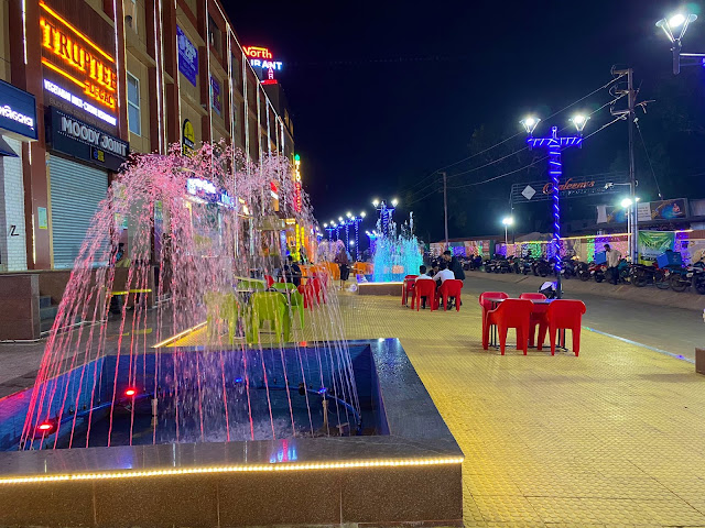 Water Fountain near Infocity in Patia, Bhubaneswar to Chill in the evening