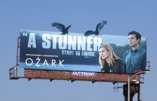 Ozark season 1 Stunner Emmy FYC cut-out billboard