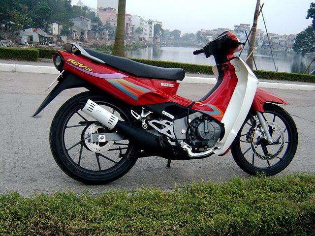 Su xipo (Suzuki Sport): Ngang tàng và lãng tử