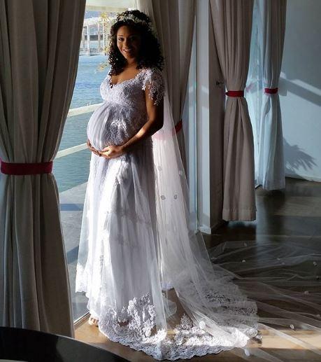 a atriz juliana alves gravida em seu casamento