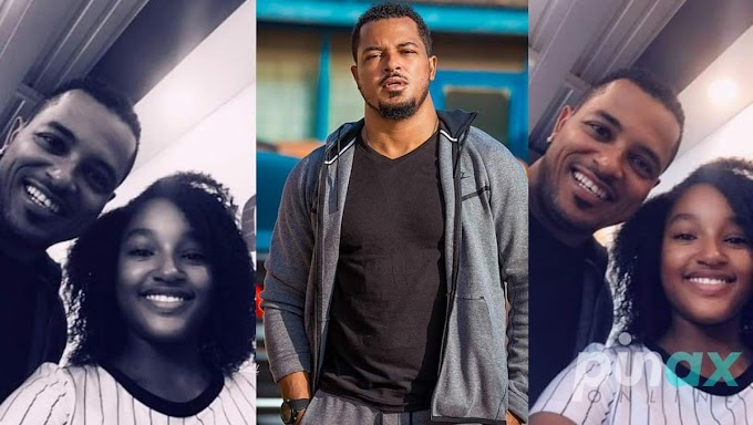 Actor Van Vicker Shows of His 14-Year Old Daughter on Her Birthday
