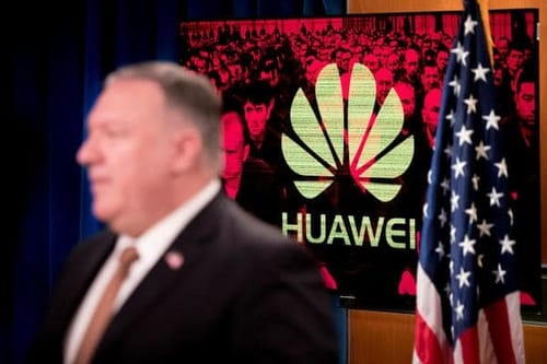 Pompeo: Huawei's investments are bargains and countries should ban investments