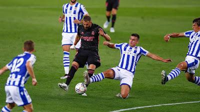 ريال سوسيداد ضد ريال مدريد .. الريال يسقط في فخ التعادل السلبي