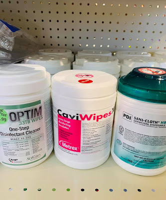 disinfectant wipes near me, lysol spray, PPE, clean wipes 21046