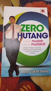 zero hutang, buku, buku kewangan,