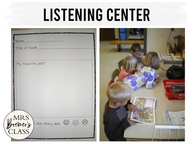Alphabet and letter learning literacy center activities for Kindergarten