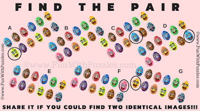 Answer of Find the Pair Picture Riddle