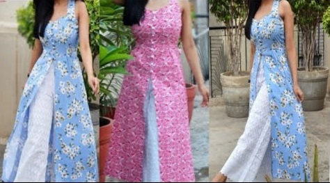 How to remove long from a ladies kurta